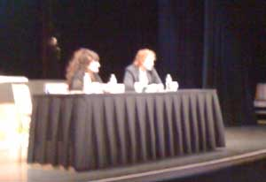 Grant Achatz and Ruth Reichl at IACP