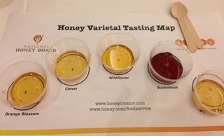 Honey types from IFEC conference