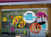 Yogurtland and CBS Fall Partnership