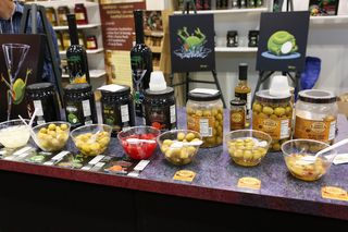 E. Formella & Sons booth at restaurant show