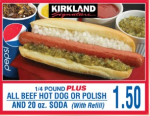 Costco Hot Dogs