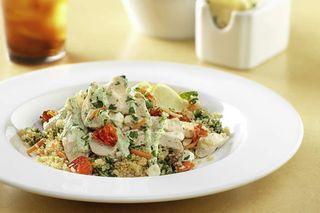First Watch Pesto Chicken Quinoa Bowl