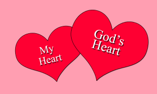 My heart Gods heart