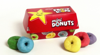 Hardees Froot Loops Donuts