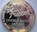 Del Frisco's Double Eagle Silver Coin New York