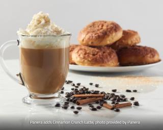 Panera Cinnamon Crunch Latte
