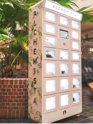 Alchemista vending machine